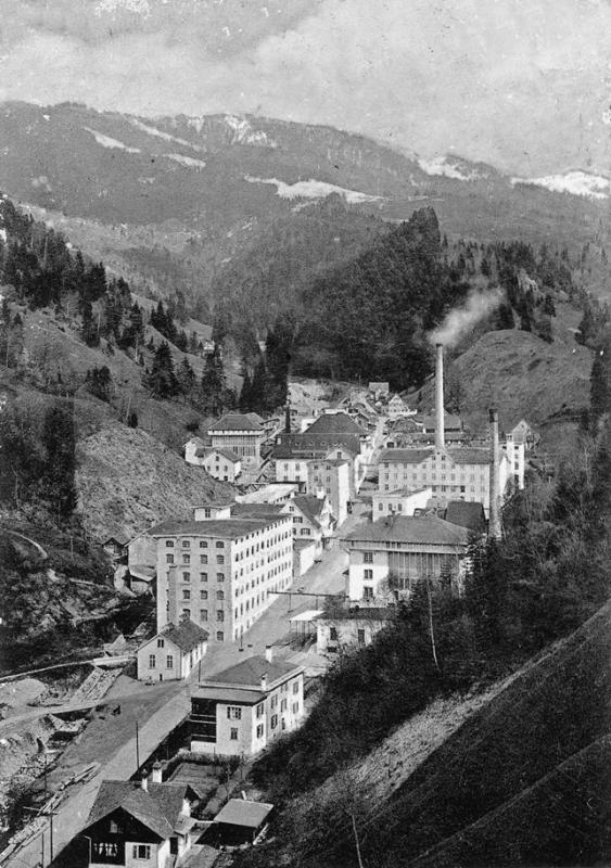 Textile Industrie in Dornbirn (Austria), 1900. © City Archive Dornbirn