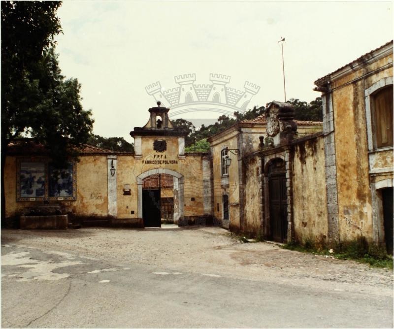 Fábrica da Pólvora, Barcarena, Portugal Copyright©CM-Oeiras,Arquivo Online, 1990