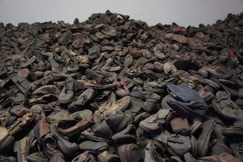 Auschwitz shoes Creative Commons Attribution-Share Alike 3.0 Unported