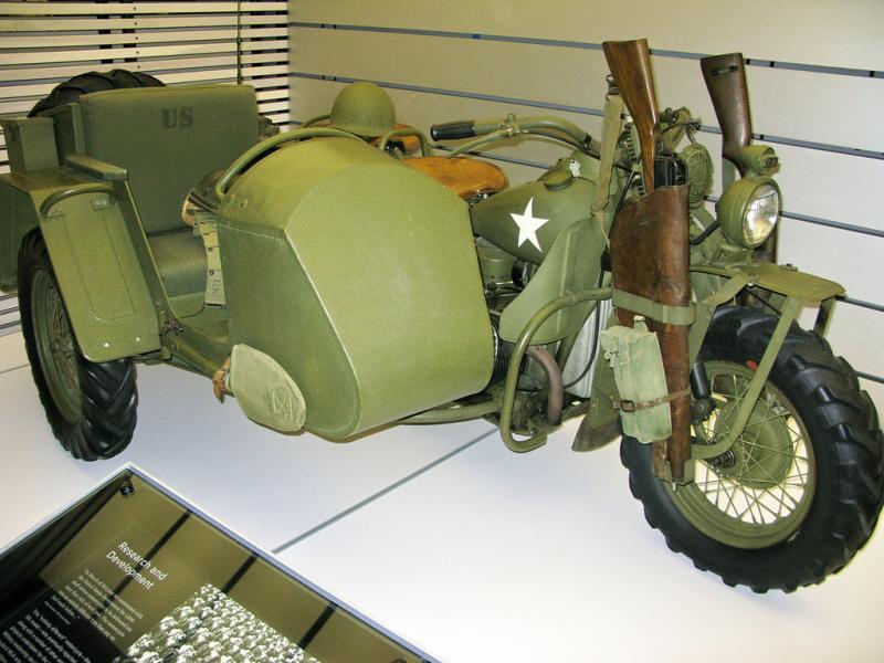 WW11 Harley Davidson  cc