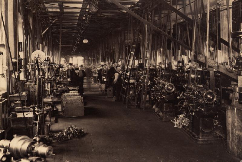 Factory interior 1900-1920